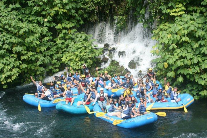 Rafting En El Río Actopan