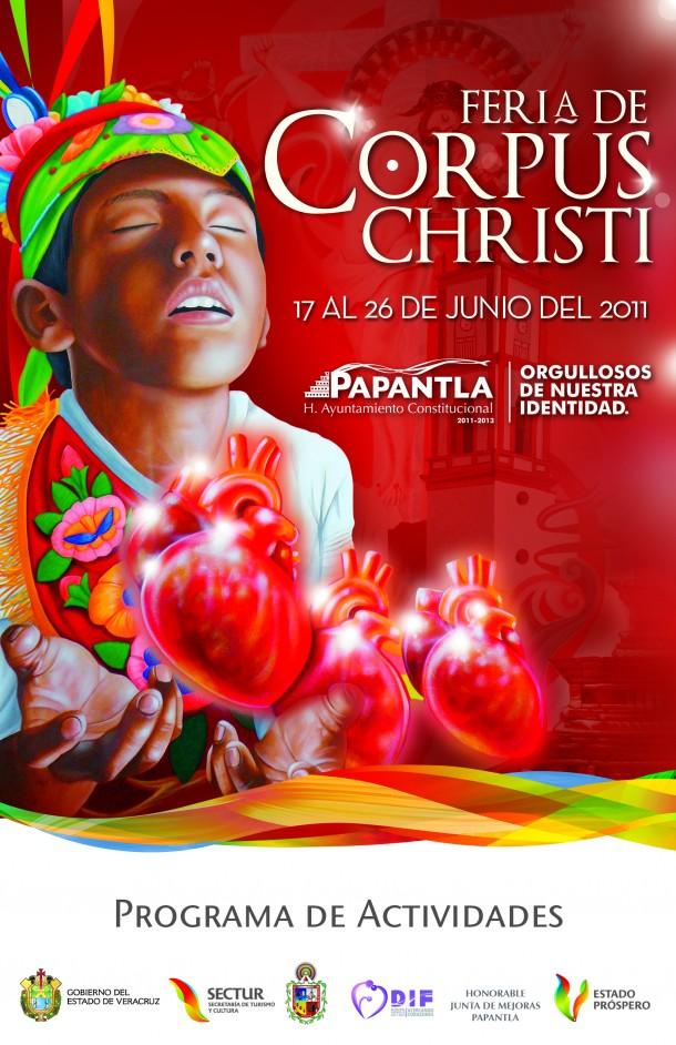 Fiestas De Corpus Del 17 al 26 de junio En Papantla