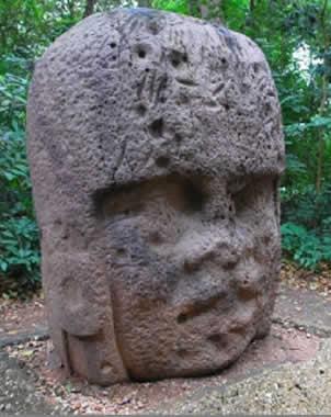 Veracruz donará a Bélgica réplica de cabeza olmeca