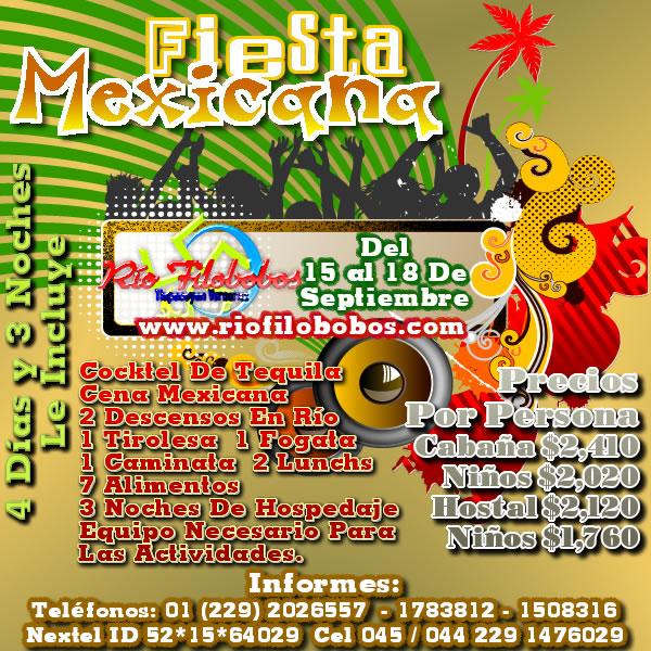 Fiesta Mexicana En El Río Filobobos
