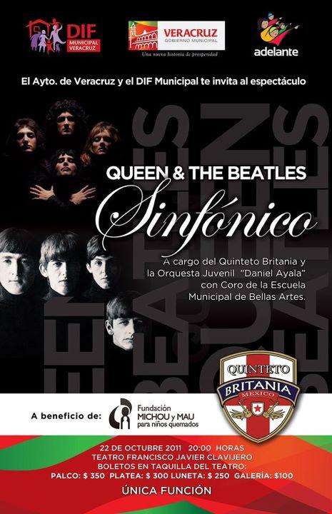 """""""Queen & The Beatles"""", a Beneficio de Michou y Mau"""