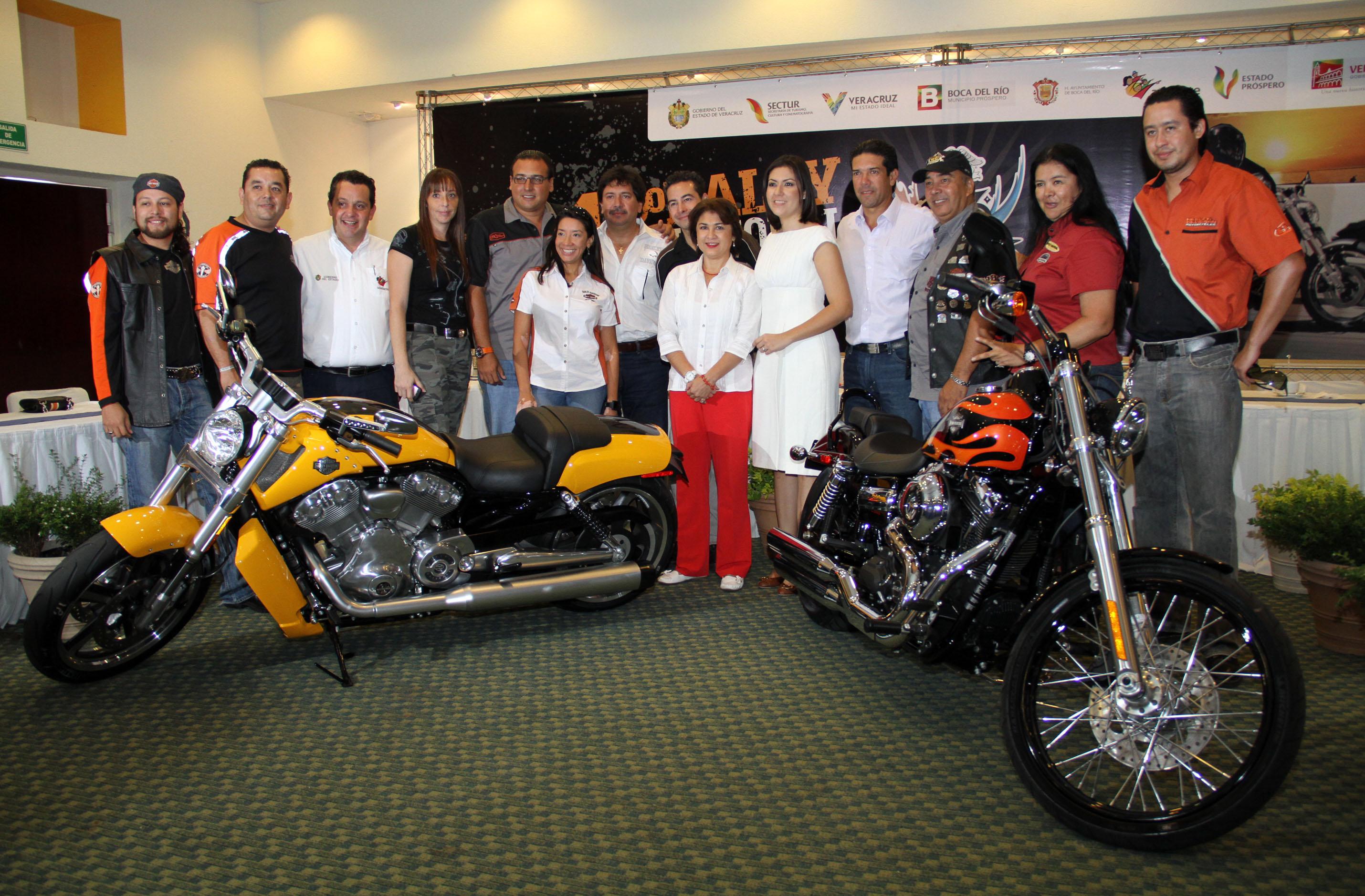 Veracruz, sede del XIII Rally Internacional de Harley Davidson