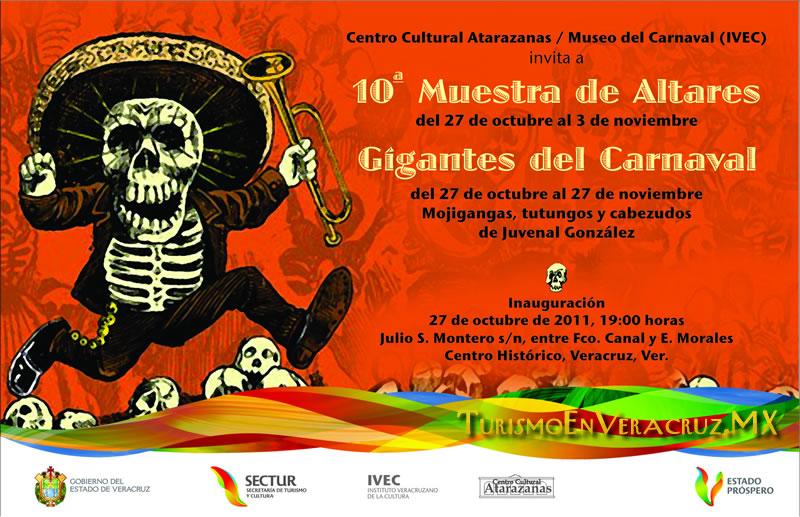 Celebra IVEC fiestas de 1 y 2 de noviembre en Veracruz