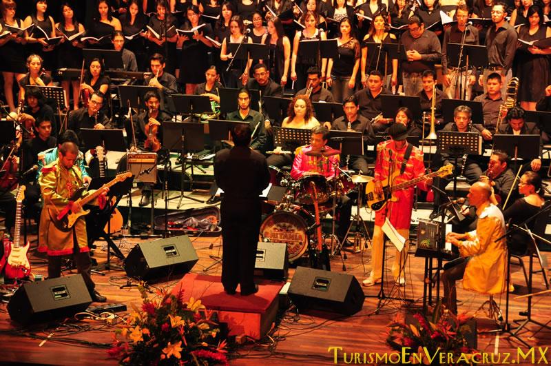 """Presentan Ayuntamiento y DIF Municipal de Veracruz concierto """"Queen & The Beatles Sinfónico"""""""