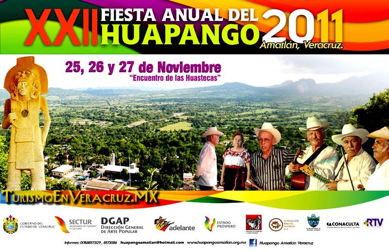 Celebra Amatlán Fiesta Anual Encuentro de las Huastecas