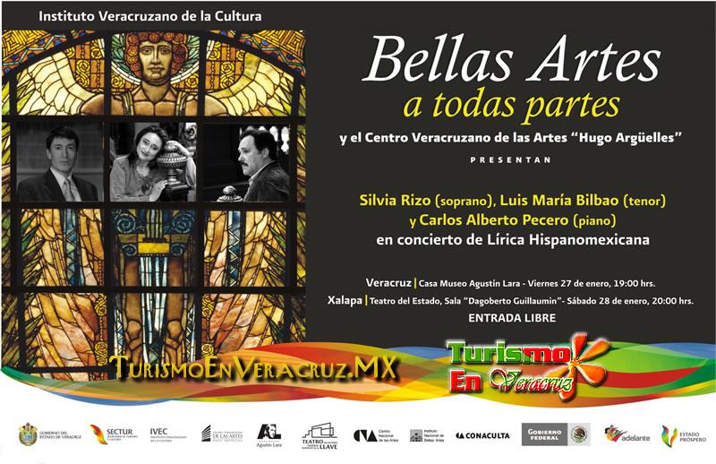 Conciertos de Lírica Hispanomexicana, este fin de semana en Veracruz y Xalapa