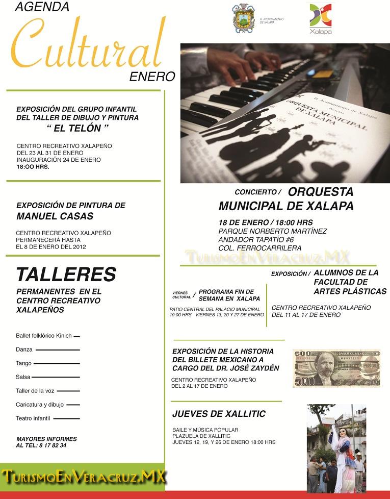 Agenda Cultural De Xalapa Enero 2012
