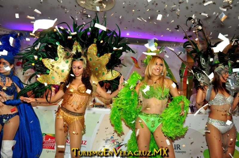 Carnaval 2012, será el mejor en la historia de Veracruz: Carolina Gudiño