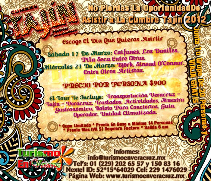 Viaja a La Cumbre Tajín 2012