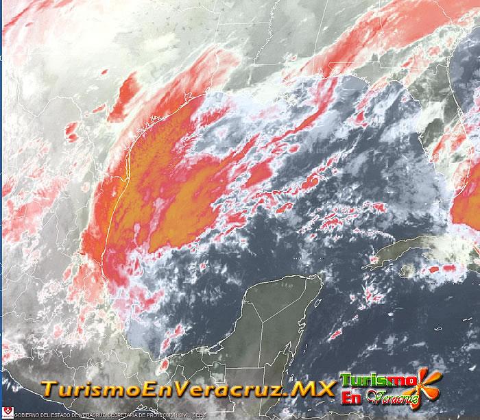 Trae frente frío 30 cielo nublado y lluvias a todo el estado: SPC