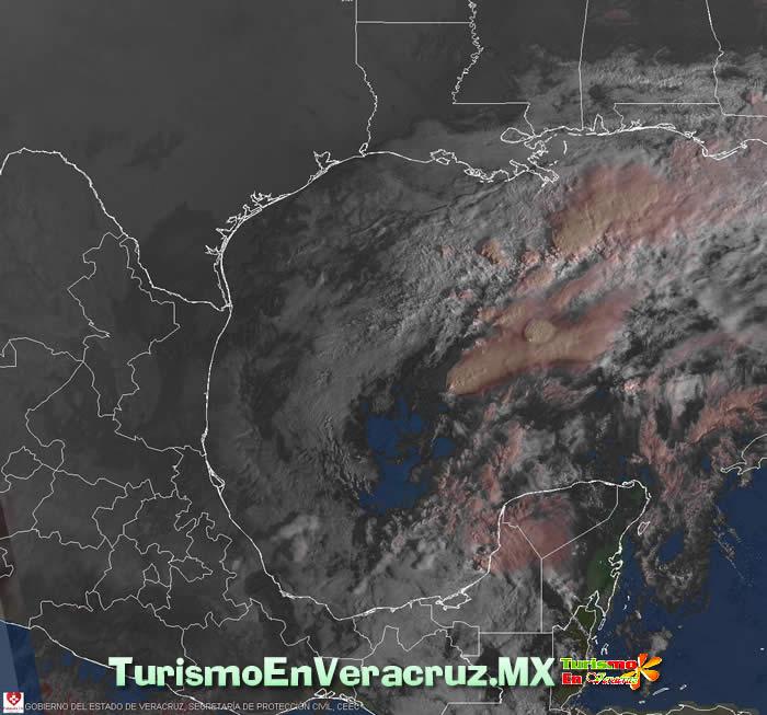 Disminuirán los días nublados y el potencial de lluvia en el Estado de Veracruz