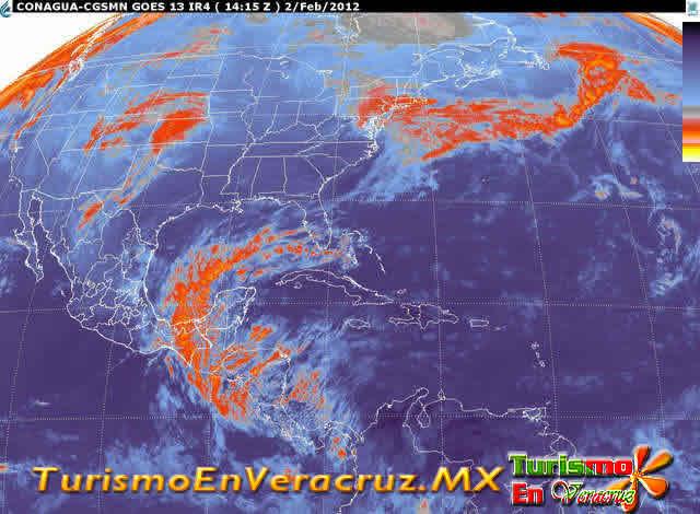 Boletín Meteorológico Del 2 De Febrero De 2012 Estado De Veracruz
