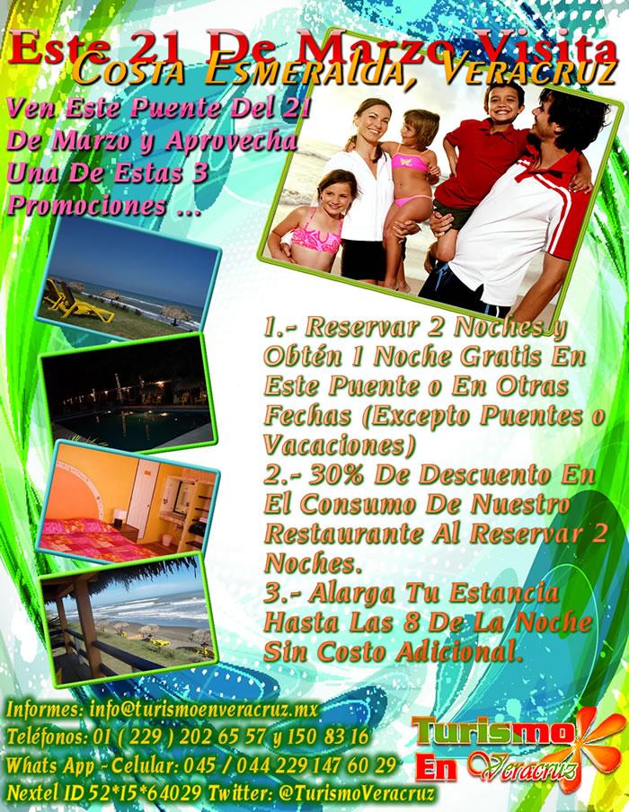 Vive Este Puente De Marzo En Costa Esmeralda Veracruz