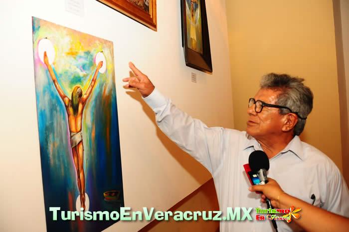 """Inaugura Ayuntamiento de Veracruz exposición plástica """"Diversidad 2"""""""