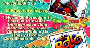 Vamos a Six Flags y El Rollo Este 14 De Abril y Julio 2012 Saliendo De Veracruz y Xalapa