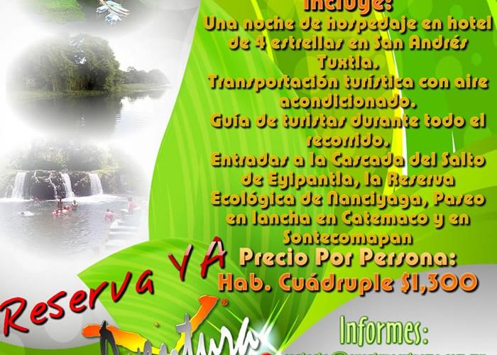 Este Verano Visita Los Tuxtlas Veracruz