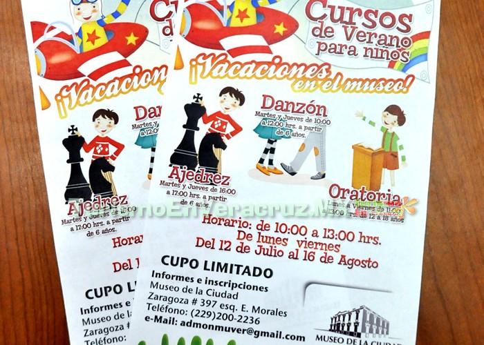Impartirá Ayuntamiento de Veracruz Cursos de Verano para niños y jóvenes