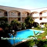 Alberca Del Hotel Carmen Inn - 5 Días y 4 Noches En Cancún Saliendo De Veracruz