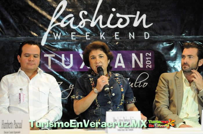 Moda, cultura y tradición en el Fashion Weekend 2012, en Tuxpan