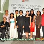 Ayuntamiento de Veracruz lleva a cabo la clausura de fin de curso de la Escuela Municipal de Declamación