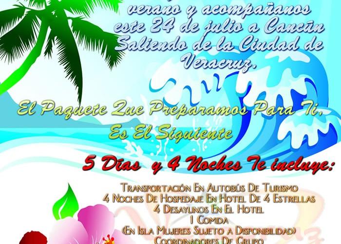 5 Días y 4 Noches En Cancún Saliendo De Veracruz
