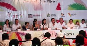 Presenta Sectur programa del Carnaval de Veracruz 2013