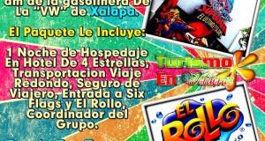 Vamos a Six Flags y El Rollo Este 23 De Marzo 2013 Saliendo De Veracruz y Xalapa