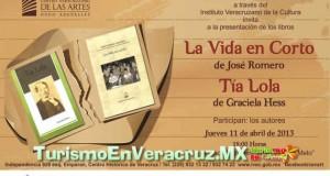 Presenta Ivec los libros Tía Lola y La vida en corto