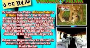 Africam Safari y El Rollo Te Esperan Este 6 De Julio