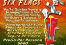 Six Flags Te Espera Este 16 De Junio De 2013 Saliendo De Veracruz y Xalapa