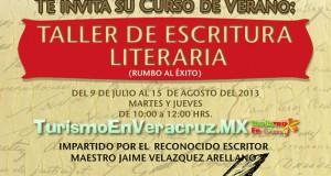 Invita Ayuntamiento de Veracruz a talleres de verano en la Casa Museo Salvador Díaz Mirón.