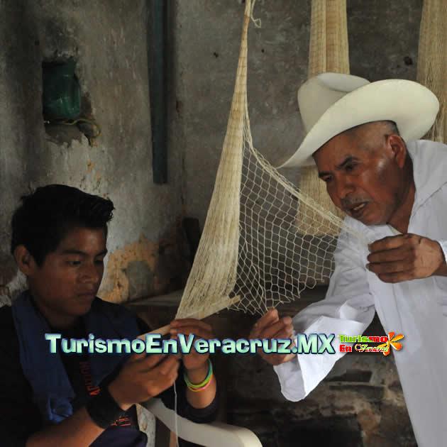 Rescata Veracruz fabricación artesanal de atarrayas
