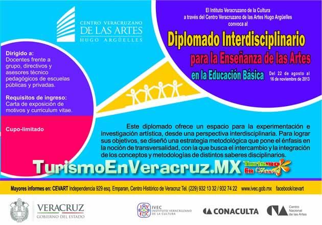 Impartirá Ivec Diplomado Interdisciplinario para Enseñanza de las Artes en la Educación