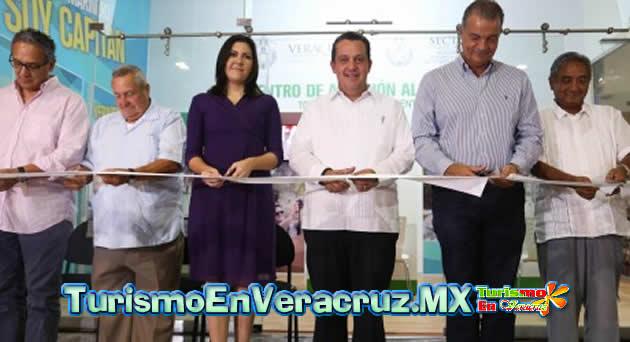 Inaugura Sectur Centro de Atención Turística en el Acuario de Veracruz