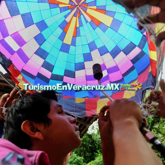 Zozocolco, manos jóvenes para crear a los gigantes del aire