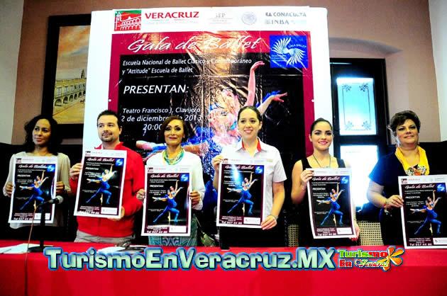 Anuncia Ayuntamiento de Veracruz presentación de la Escuela Nacional de Danza Clásica y Contemporánea en el Teatro Clavijero.