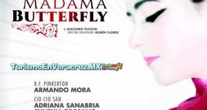 Presenta IVEC ópera Madama Butterfly en Teatro del Estado