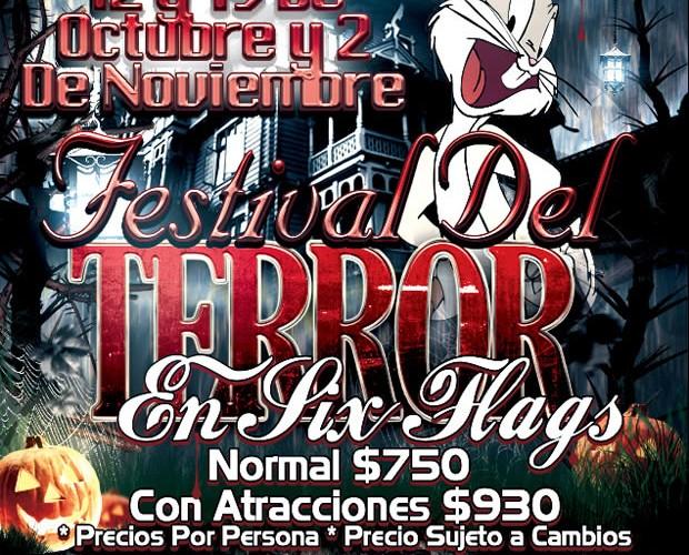 El Festival Del Terror Te Espera En Six Flags Este 12 De Octubre Saliendo De Veracruz y Xalapa