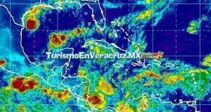 Cielo nublado y ambiente cálido en el Estado de Veracruz