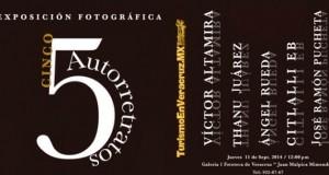Se presenta en Fototeca de Veracruz exposición fotográfica Cinco Autorretratos