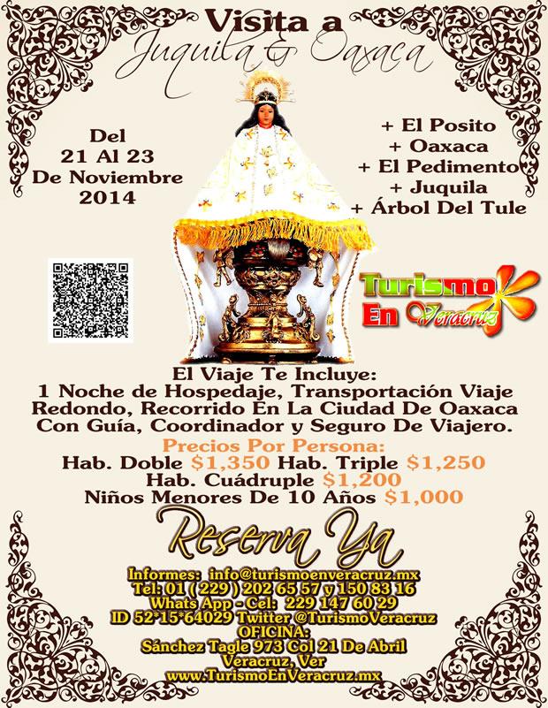 Visitemos Juquila y Oaxaca Del 21 Al 23 De Noviembre Saliendo de Veracruz