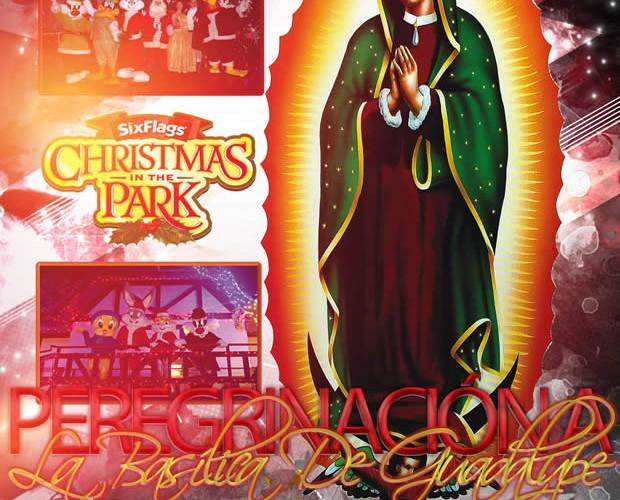 Peregrinación a La Basílica y Viaje a Six Flags Este 21 De Diciembre Saliendo De Veracruz y Xalapa