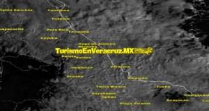 Lluvias y nieblas dominan en Veracruz, previo a la llegada del FF25 este miércoles