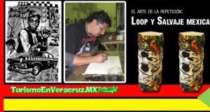 El arte de la repetición: Loop y Salvaje Mexica