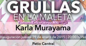 Inaugurará IVEC exposición Grullas en la Maleta, de Karla Murayama