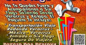 Salida a Six Flags Este 14 De Febrero Saliendo De Veracruz, Cardel y Xalapa