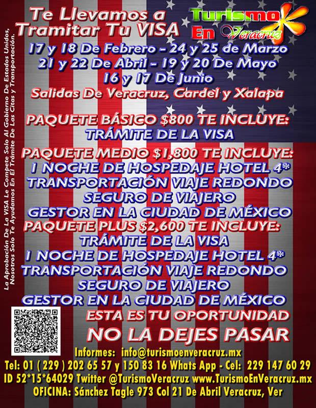 Tramita Tu Visa Saliendo De Veracruz, Cardel y Xalapa
