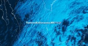 Lluvia ligera y ambiente fresco en el Estado de Veracruz
