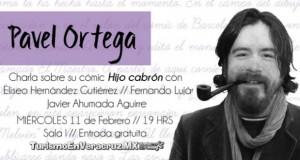 Hablará Pavel Ortega sobre el cómic en Palabra de Autor
