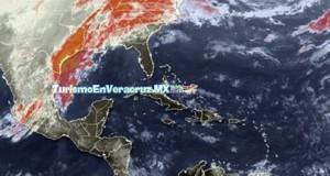 Incremento de nublados, #lluvia y viento del norte en #Veracruz